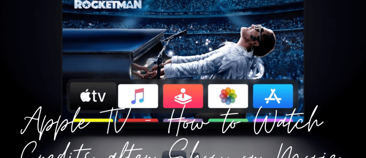 How to Watch Credits after Show or Movie on Apple TV