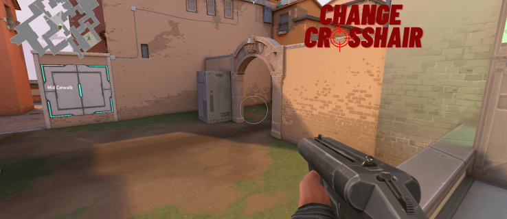 How to Change the Crosshair in Valorant