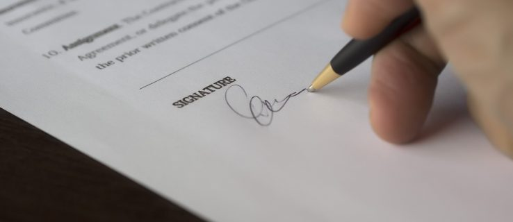 How to Insert a Signature in Microsoft Word