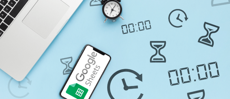 How to Show the Current Time in a Google Sheet