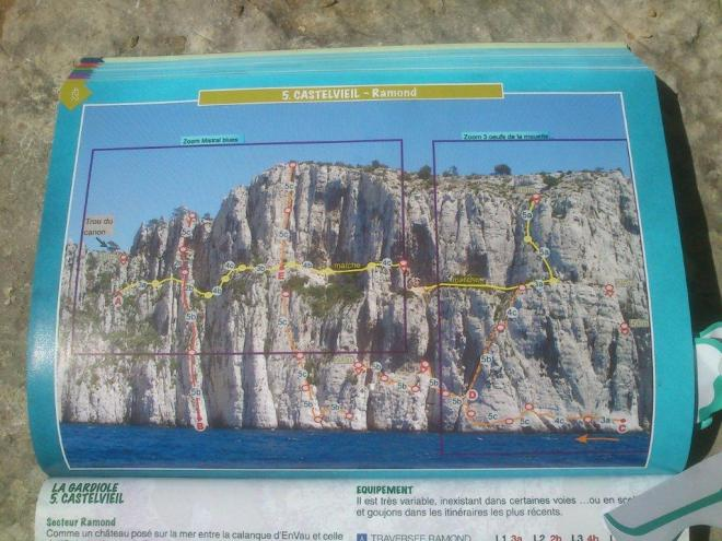 Calanques 2014 - Le plan