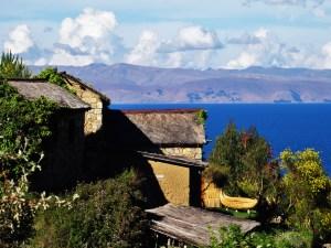 Maison au Titicaca