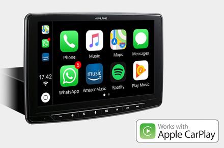 iLX-F903D - Works with Apple CarPlay