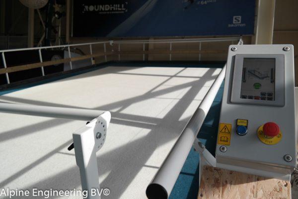 ski simulator indoor ski slope