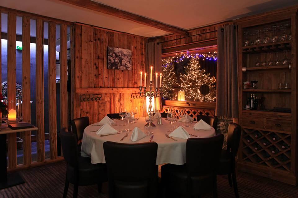 Bistrot du Praz, one of Alpine Escape's recommended Le Praz Restaurants