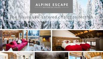 The Luxury Self-Catered Ski chalet collection