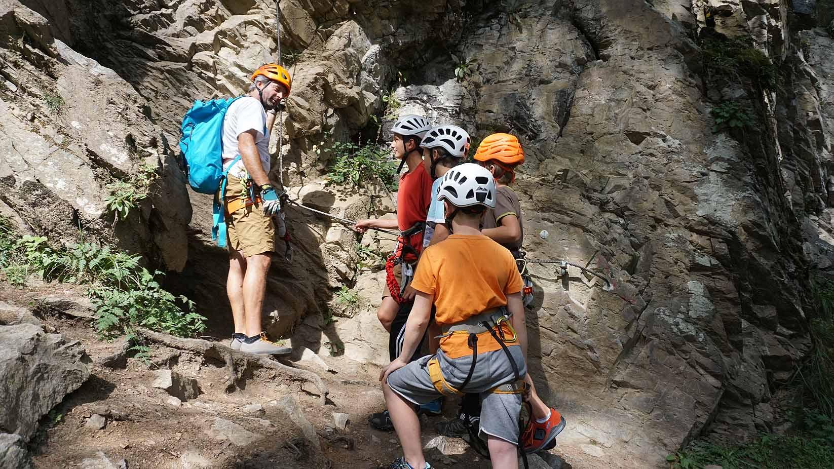 Klettersteigset Für Kinder : Klettersteig mit kinder und jugendlichen eine besondere herausforderung!