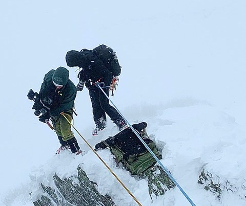 Location Scouting, Sicherheit und Unterstützung des Filmteams bei Shootings für GoreTex I alpinekompetenz.com
