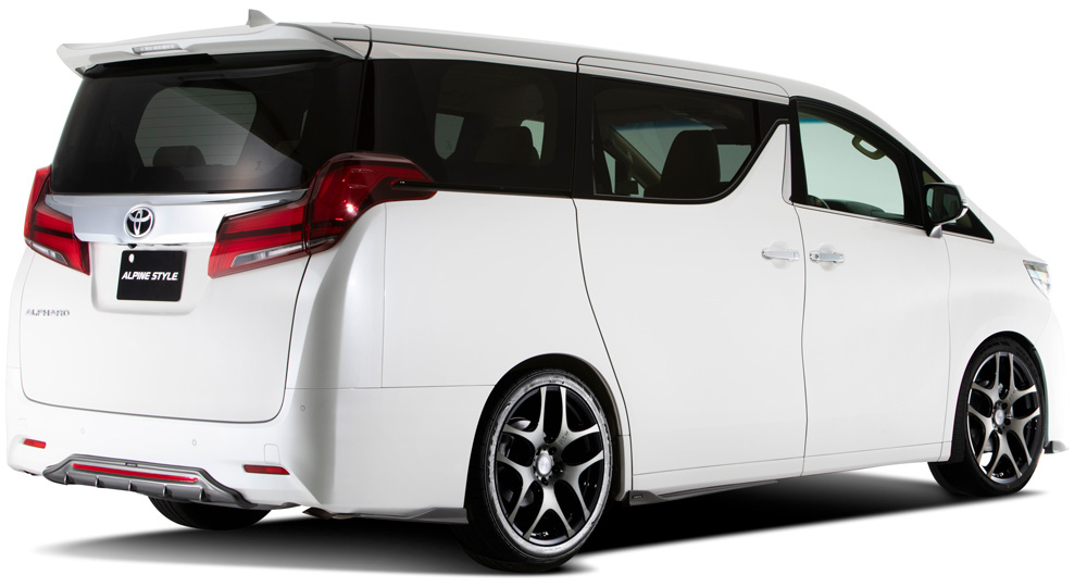 ALPHARD 'TYPE GOLD' on BIG X ver. Rear