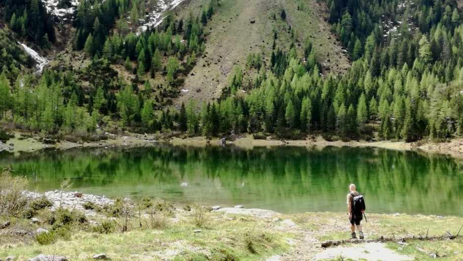 Beim Alpine-Swimming geht es um Swim-Hiken in und zu Bergseen, Wildbächen, Wasserfällen