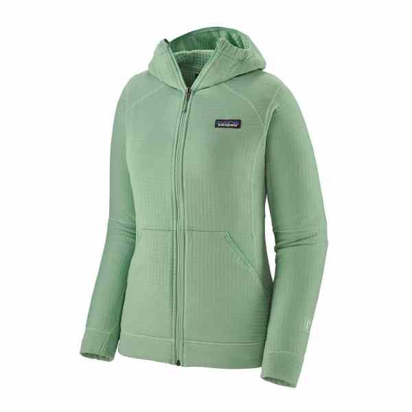 r1 fleece full-zip hoody women's