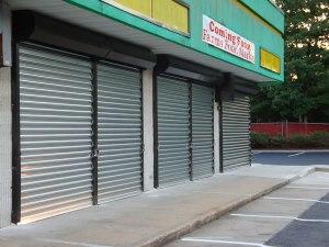 Security Shutters, Stainless Steel Door, Mall Security Doors, Riot Door