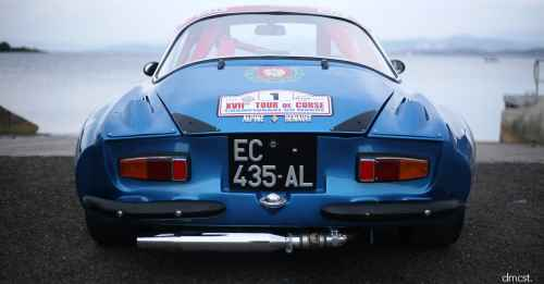 L'Alpine A110 1600S 1971, une histoire d'Hommes !