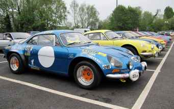 alpine A110 A610 A310 GTA RAOC UK ASAN 2017 - 34