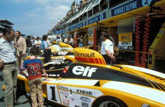 24 Heures du Mans 1978 pironi jabouille depailler jaussaud bell ragnotti frequelin a443 a442b a442a a442 victoire - 25