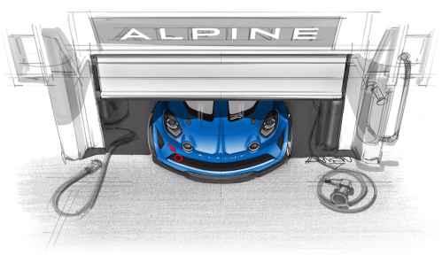 Alpine annonce la nouvelle Alpine A110 Cup
