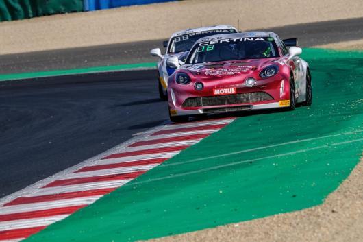 FFSA GT4 Alpine A110 Pierre Sancinena Magny Cours CMR victoire (3)