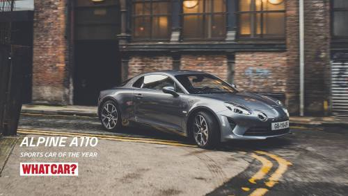 Le magazine What Car? sacre l'Alpine A110