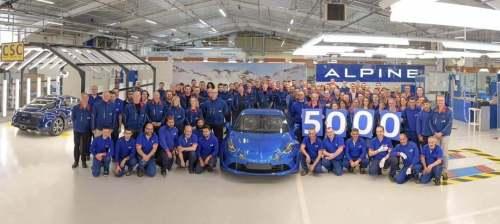 Nouvelle Alpine A110 : Succès confirmé !