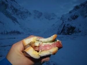 Alpine Start Sandwich