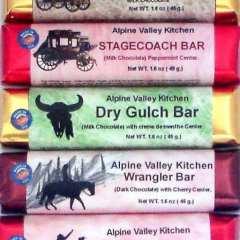 Western Series Candy Bar