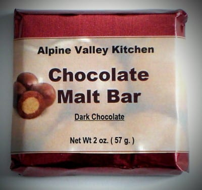 Chocolate Malt Bar | Candy Bar