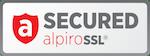 Zabezpečeno SSL certifikátem AlpiroSSL