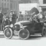 Una solución de 1927 para aparcar en espacios reducidos