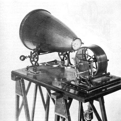 La primera grabadora de sonidos de la historia