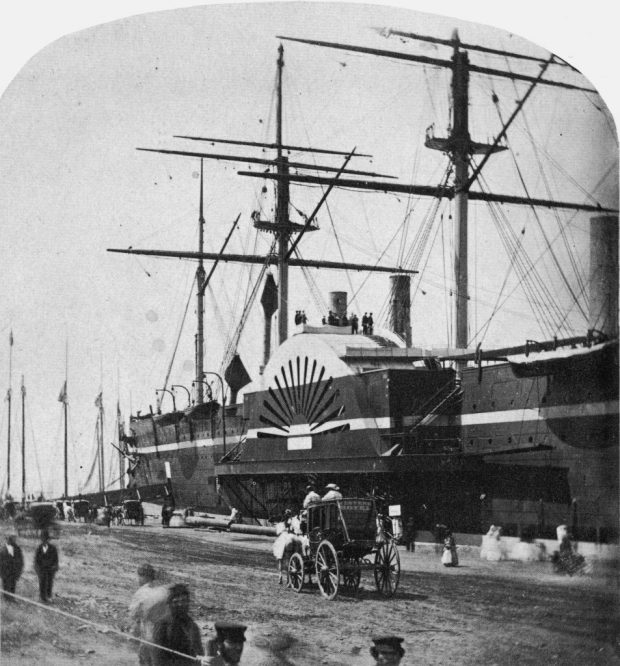 El SS Great Eastern en Nueva York.