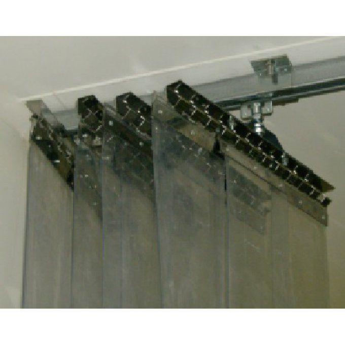rideau lanieres pvc accordeon alppi