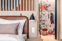 VillaVerde Algund bei Meran Apartment Bett