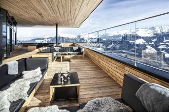 Mountain Lofts Terrasse