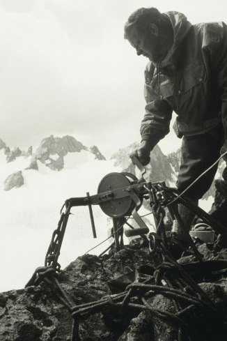 Historisches Bild Bergwacht Bayern