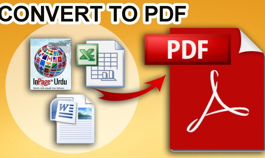How To Convert Urdu Inpage File to PDF