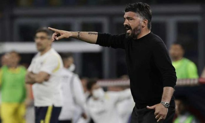 Napoli owner confirms the departure of coach Gattuso - (Tweet)