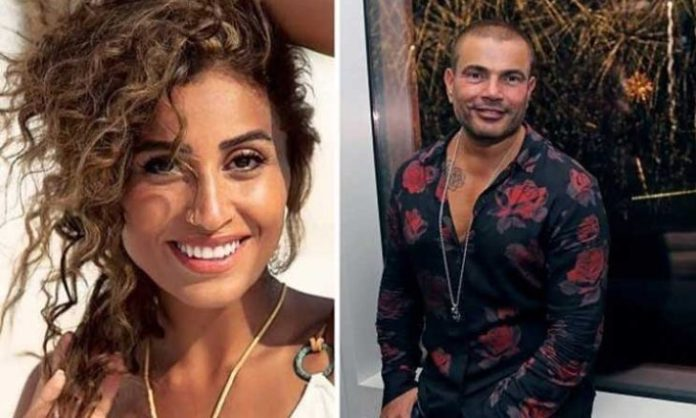 After the spread of a photo of them, has the dispute between Amr Diab and Dina El-Sherbiny been resolved?