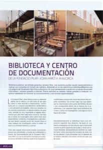 Conoce la Biblioteca de la Fundació Pilar i Joan Miró en Mallorca