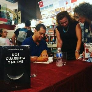 Entrevista a Antonio Parra Sanz, articulista de opinión y crítico literario