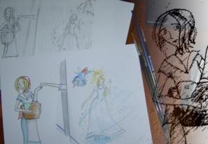 Ilustrando cuentos como servicio social (1)
