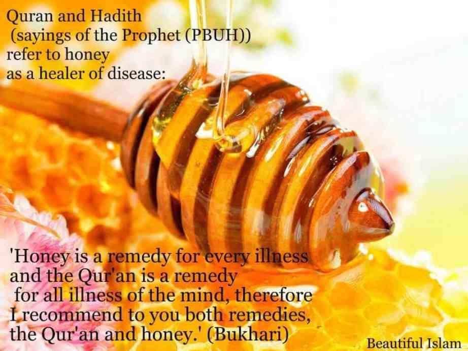 honey as medicine, honey islamic medicine