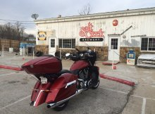 Salt Creek Brewery with Victory Motorcycle