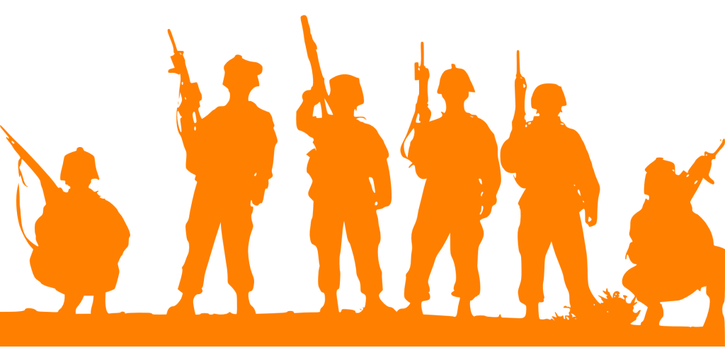 Outline of Soldiers