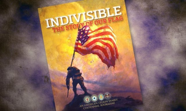 Indivisible Bookazine Cover with flag