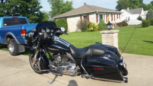 2013 H-D Street Glide Left Side View