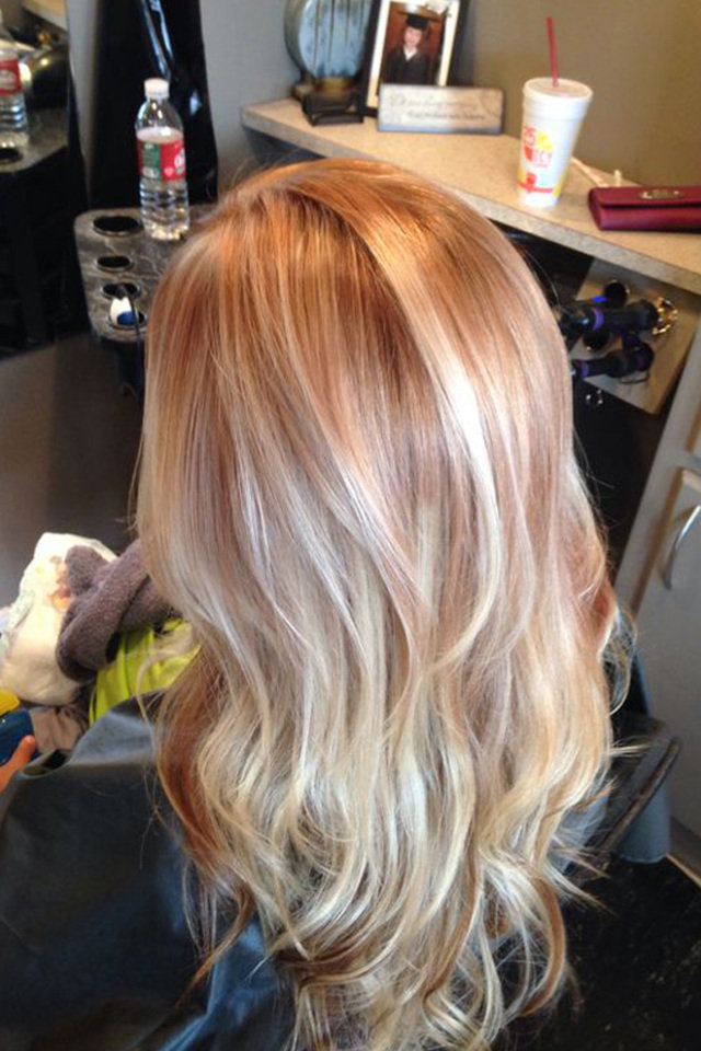 Highlighted Light Brown Hair