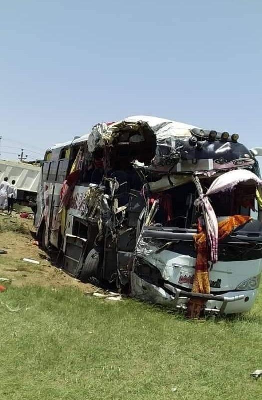 مصرع وجرح 37 راكب في حادث بالنيل الأبيض