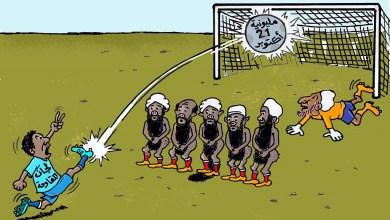 مليونية 21 ... كاريكاتير عمر دفع الله