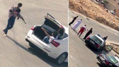 عملية خطف تحت تهديد السلاح في العاصمة السعودية الرياض