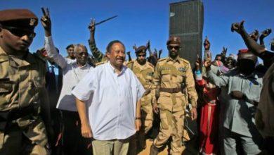 دكتور حمدوك في زيارته للفاشر بشمال دارفور